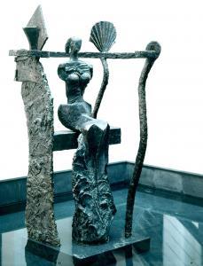 Parquetina | Jahr 1993 | Bronze 1/1 | Höhe 170 cm