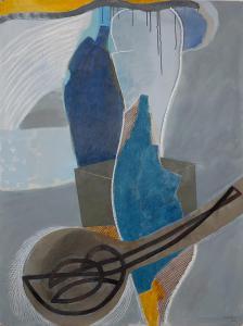 WERK 1247 | Jahr 2011 | Acryl, Kohle und Pastell auf Papier<br>Format: 150 x 113 cm