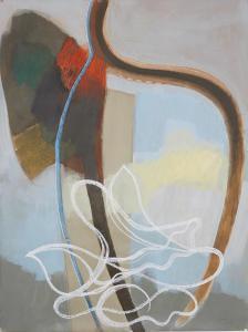 WERK 1250 | Jahr 2011 | Acryl, Kohle und Pastell auf Papier<br>Format: 150 x 113 cm