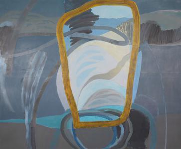WERK 1253 | Jahr 2011 | Öl auf Leinwand<br>Format: 190 x 230 cm